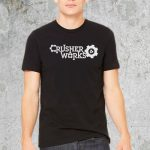 Crusher Works Black TShirt