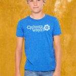 Crusher Works T Shirt Kids True Royal