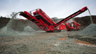 Sandvik QA331 Mobile Screener