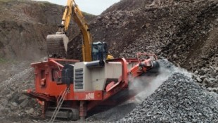 Sandvik QJ240 Jaw Crusher