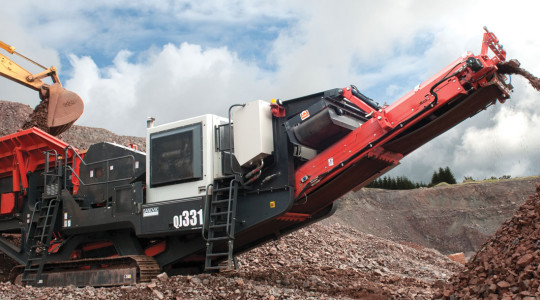 Sandvik QJ331 Jaw Crusher