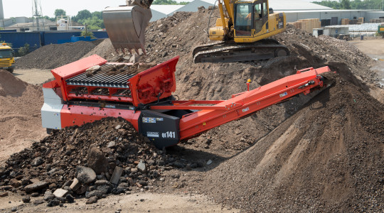 Sandvik QE141 Mobile Scalper