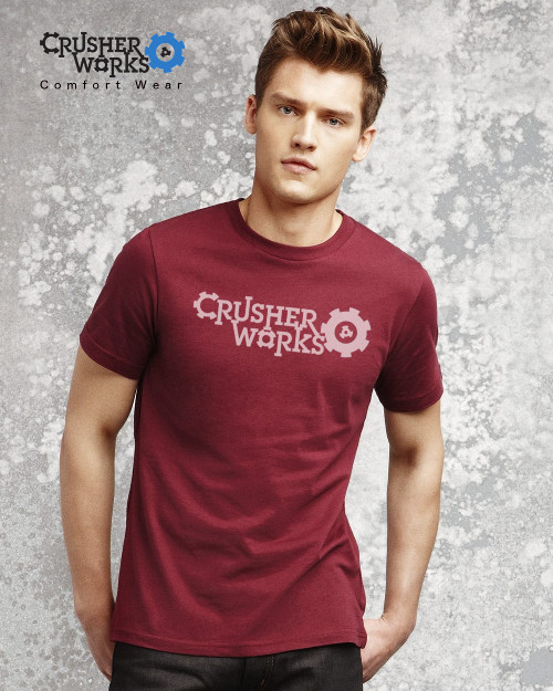 Crusher Works TShirt Ad Small