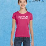 Crusher Works T Shirt Kids Berry