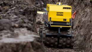 NEW!!! ATLAS COPCO LP8504 Trench Compactor