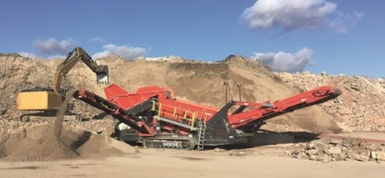 NEW Sandvik QE342 Scalping Screen!!!!!